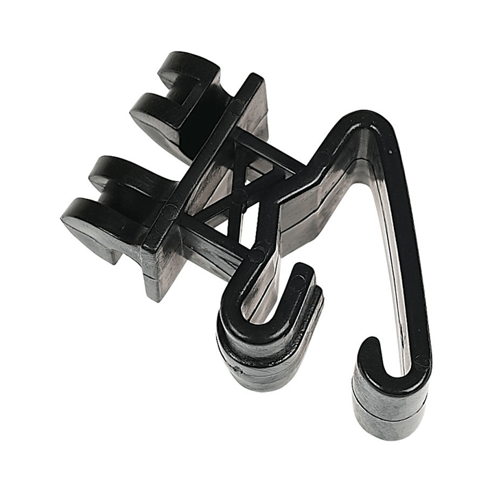 Braid Premium T-Post Insulator Black – Bag Of 25
