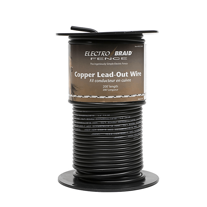 ElectroBraid Copper Lead-Out Wire -200 Feet