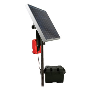 SpeedRite 2000 With 20 Watt Solar Panel For Up To 15 Acres