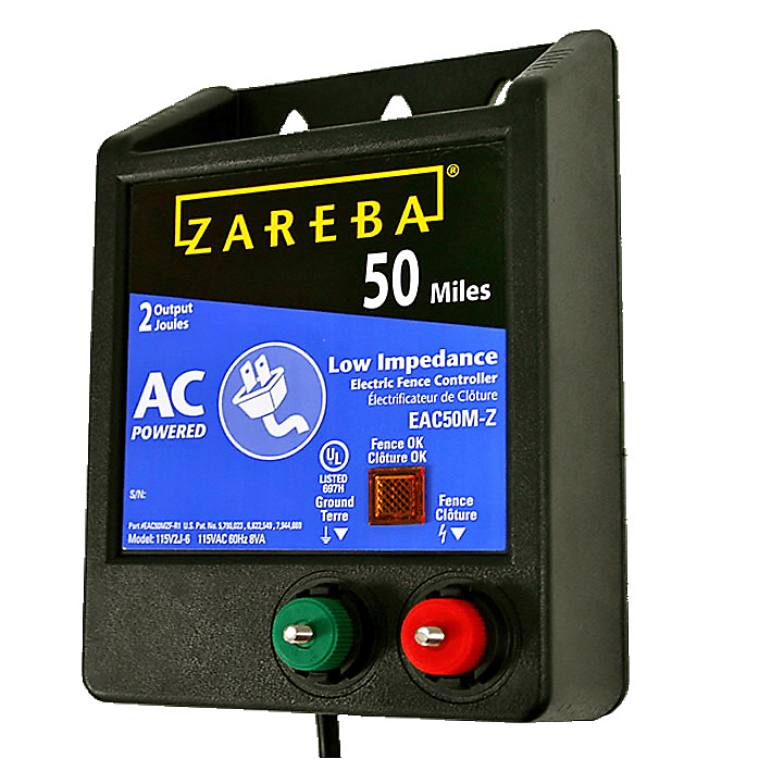 Zareba® 50 Mile AC Powered Low Impedance Charger